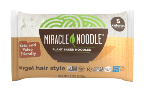 Picture of Miracle Noodle packaging