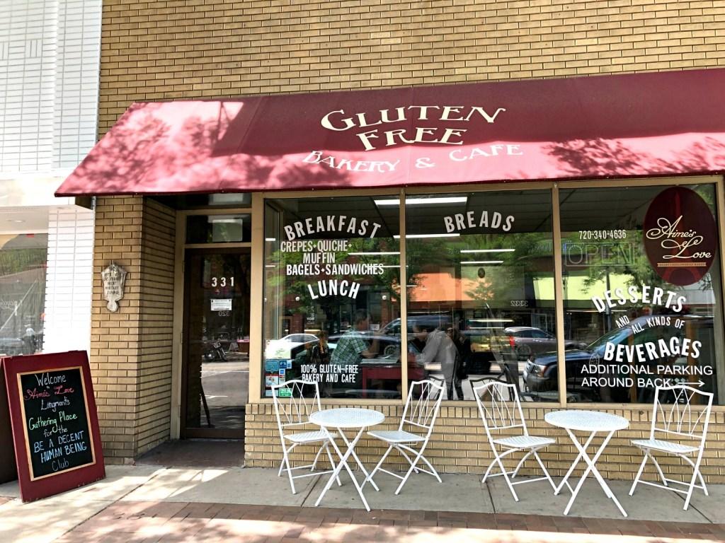 Aime's Love gluten-free bakery image