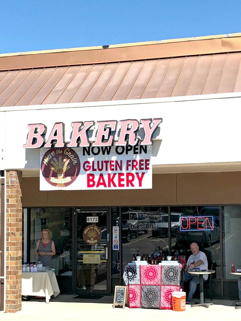 outside of Wave the Grain gluten-free bakery in denver