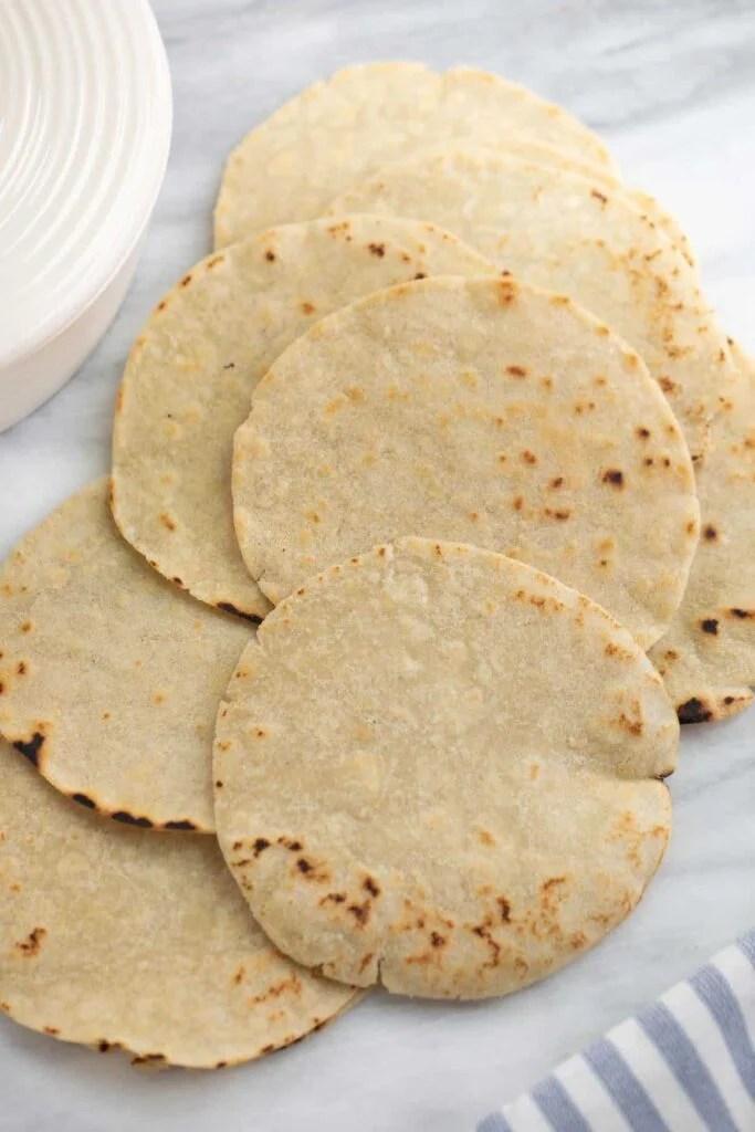 gluten-free tortillas by meaningful eats