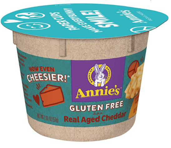 Annie's gluten free mac and cheese cup