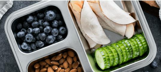 bento box with gluten-free lunch ideas
