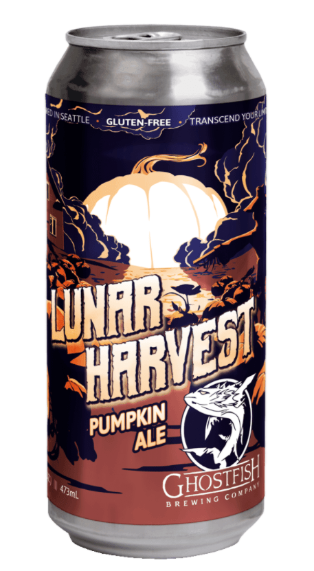 Ghostfish lunar harvest pumpkin beer