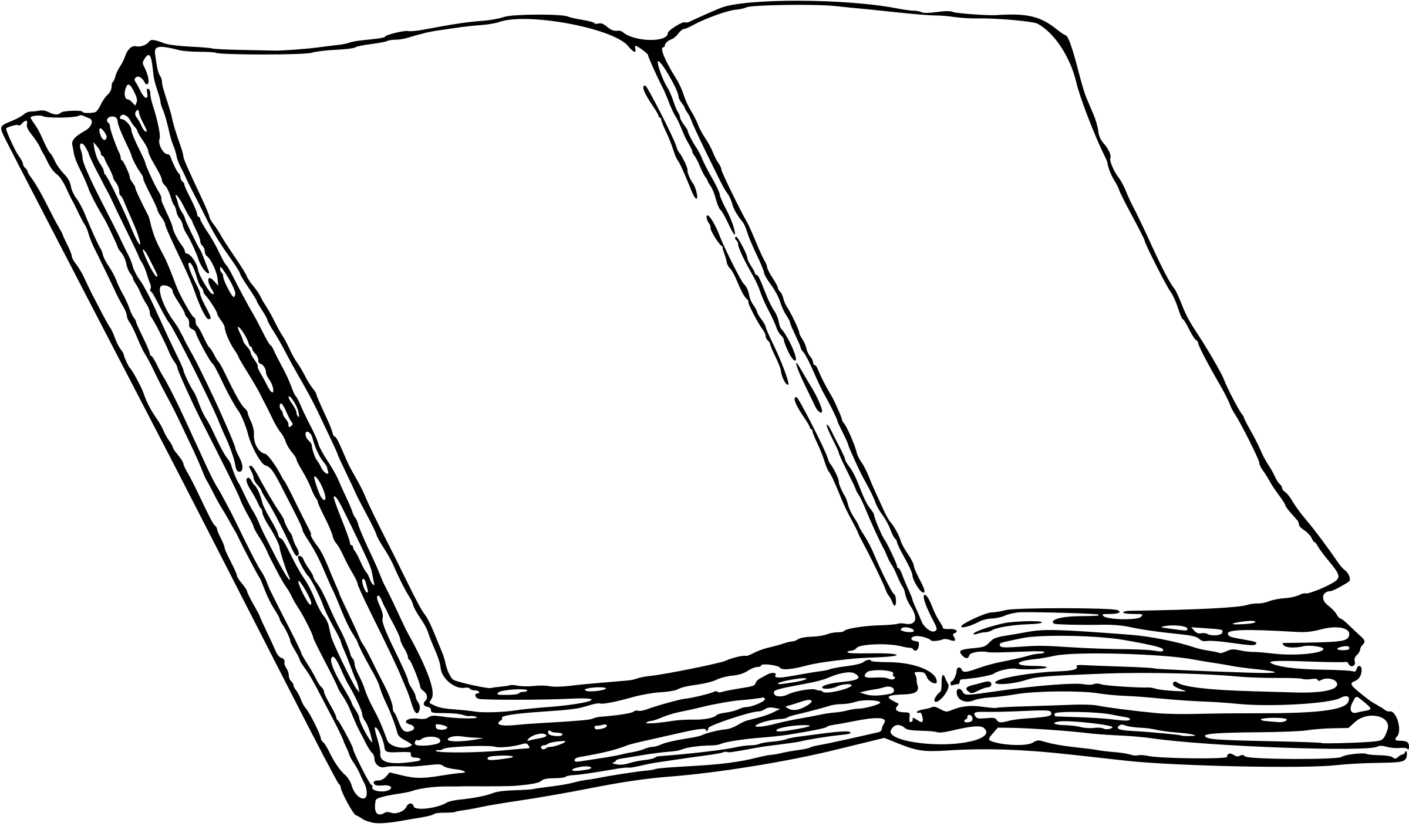 Old Book Vector Clipart Image
