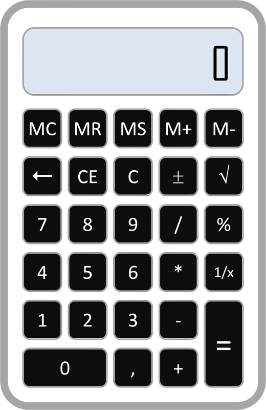 Calculator Clipart Png 45 Calculator Png Images With