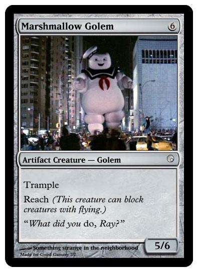 Marshmallow Golem
