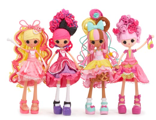 Lalaloopsy Stretchy Hair-GoodGirlsCompany-meisjesspeelgoed-poppen- Lalaloopsy Girls Crazy Hair