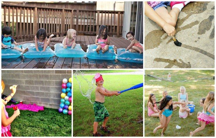 Waterspelletjes; de leukste spelletjes met water om je kind koel te houden
