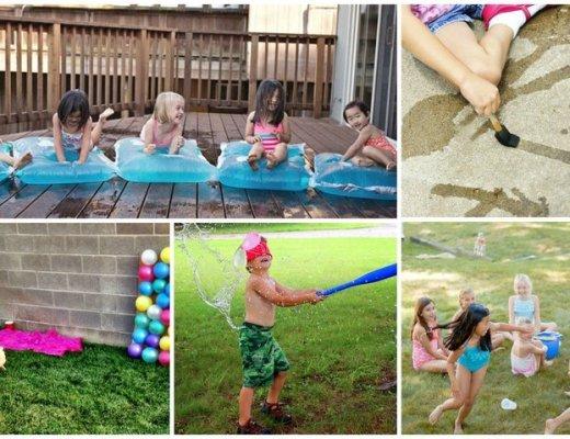 Waterspelletjes de leukste spelletjes met water om je kind koel te houden