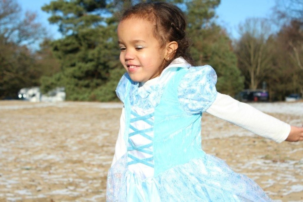 Frozen jurk voor Carnaval