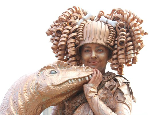 World Statues 2015-GoodGirlsCompany-Arnhem-levende standbeelden