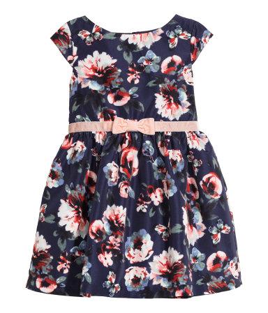 H&M kinderfeestkleding-feestjurken voor meisjes-GoodGirlsCompany kerstjurkjes-H and M party wear