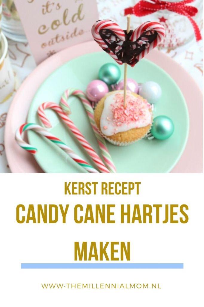 Candy Cane hartjes maken