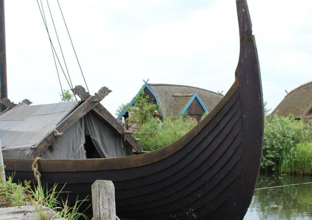 replica van het Gokstad-Schip