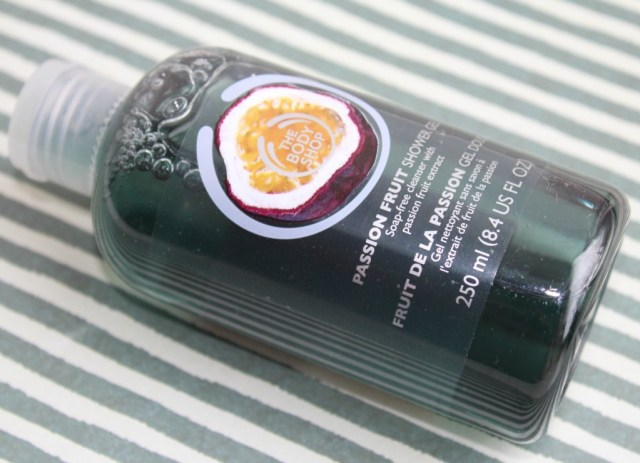 Passion Fruit shower gel- The Body Shop-shoplog-GoodGirlsCompany
