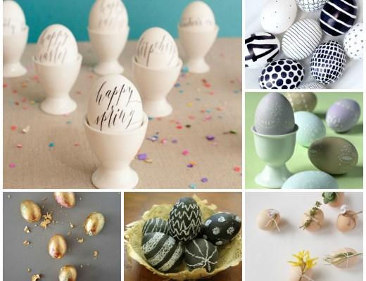 Elegante paaseieren-Stijlvolle Paaseieren-Paaseieren versieren-posh easter eggs-decorating Easter eggs-