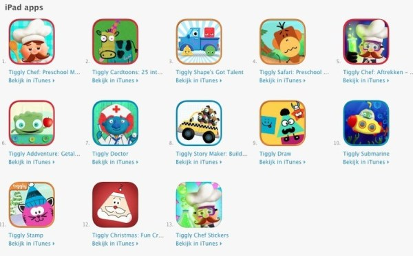 educatieve kinder apps