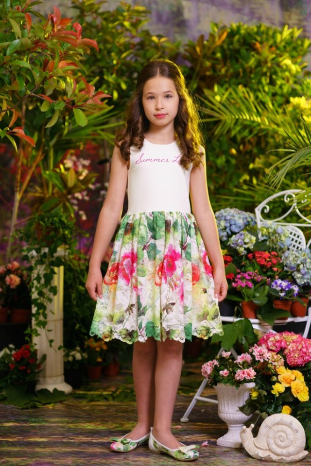 Bloemenjurkjes voor meisjes-GoodGirlsCompany