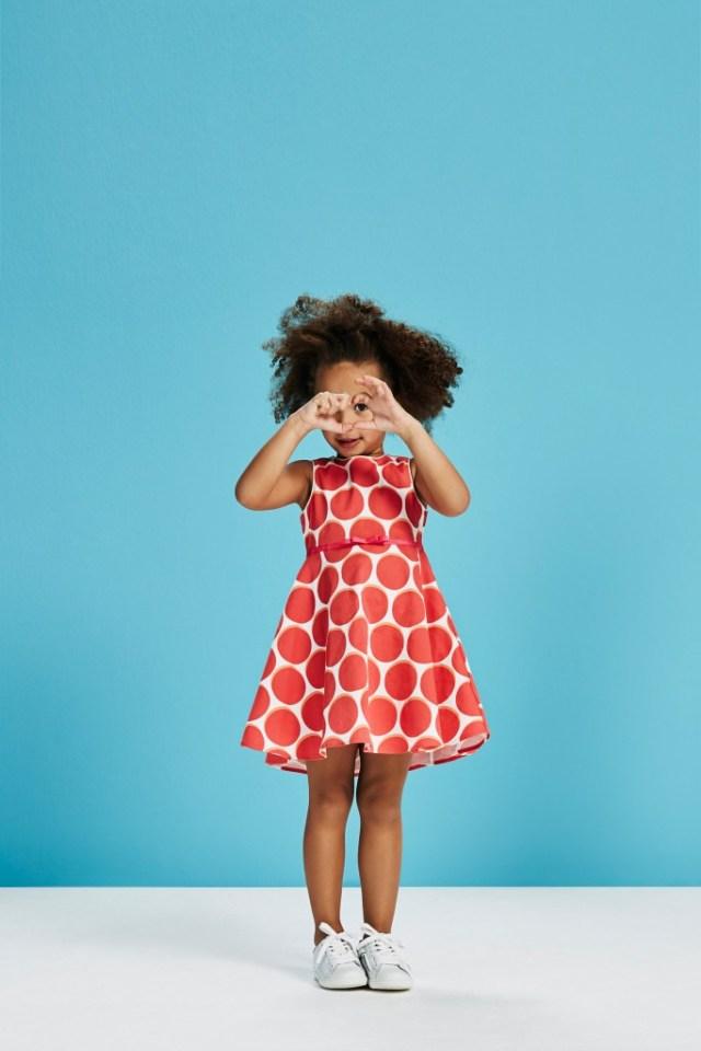 Isobelle polkadot-GoodGirlsCompany-jurken voor moeder en dochter