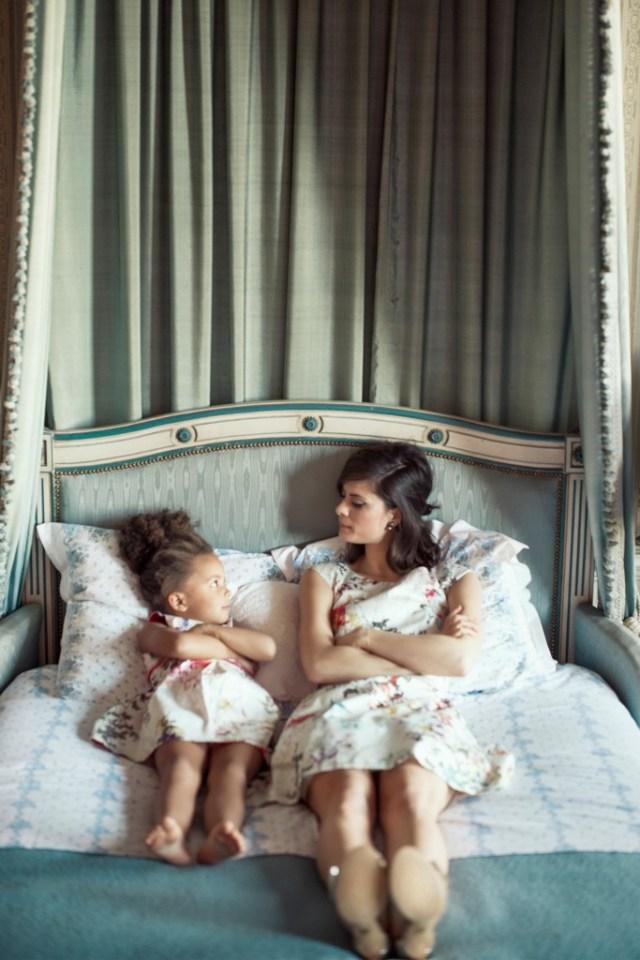 Twinning met je dochter-moder dochter outfits-GoodGirlsCompany-mooie communiejurken