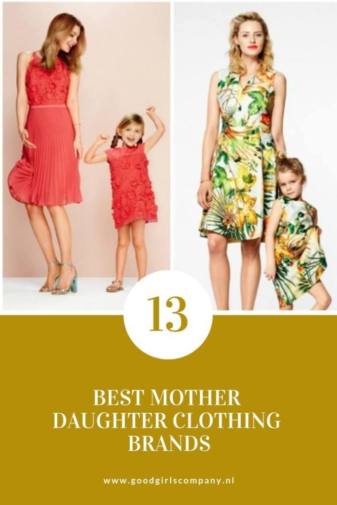 Beste moeder dochter kledingmerken