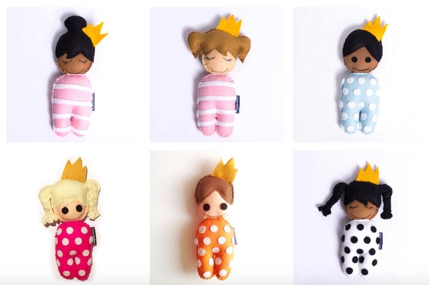 Popsjes en Co-GoodGirlsCompany-bruine pop kopen-speenkoorden voor kinderen