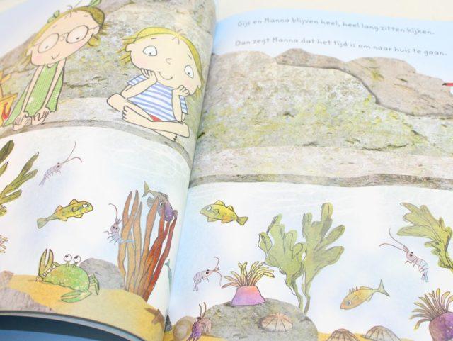 Gijs Lawaai-GoodGirlsCompany-prentenboek over het strand