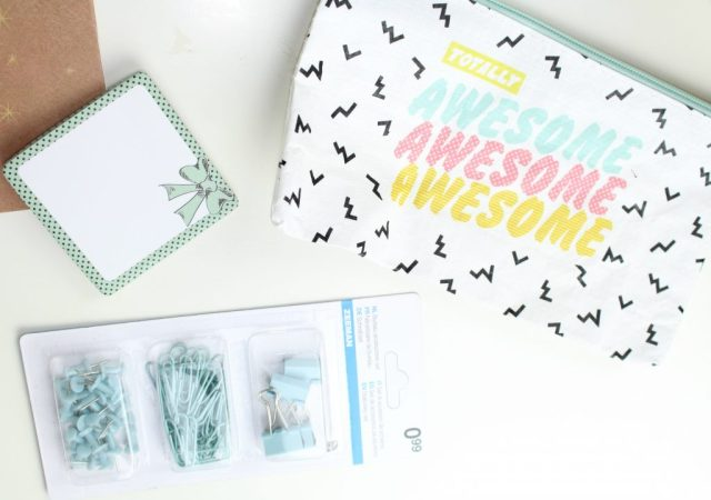 Zeeman back to school-etui met Awesome erop-GoodGirlsCompany