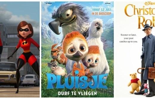 Kinderfilms zomer 2018