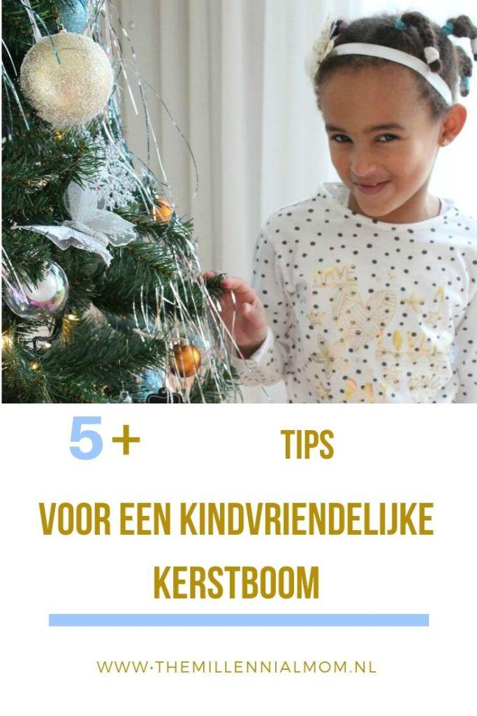 Kindvriendelijke kerstboom