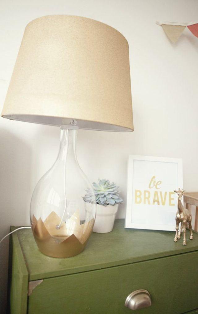 lamp goud