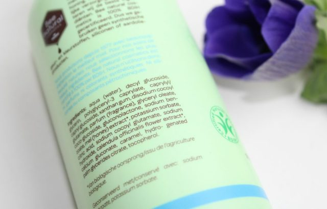 Bee natural baby hair & body wash-ingredientenlijst-GoodGirlsCompany