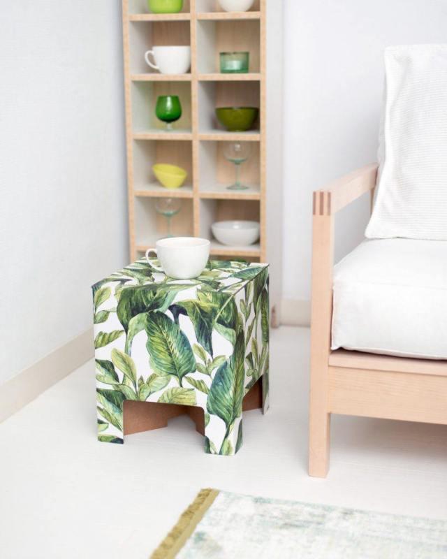 dutch-design-chair-green-leaves-GoodGirlsCompany