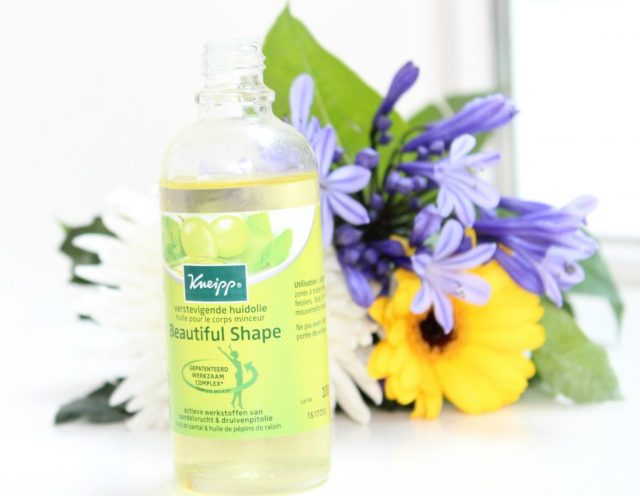 kneipp beautiful shape huidolie review-GoodGirlsCompany-verstevigende olie