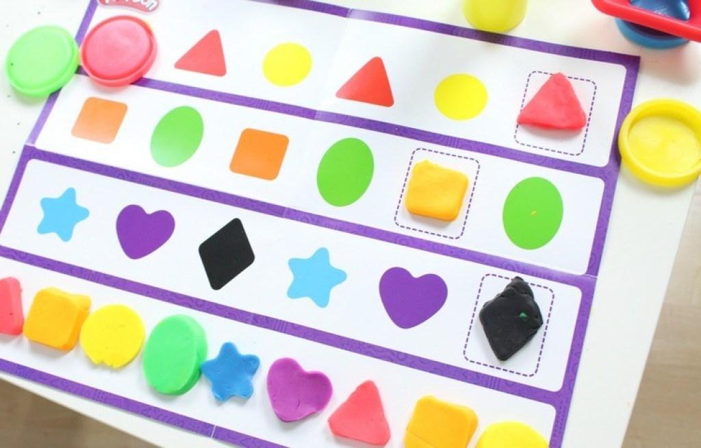 Play-Doh Spelen & Leren -kleuren & vormen-GoodGirlsCompany
