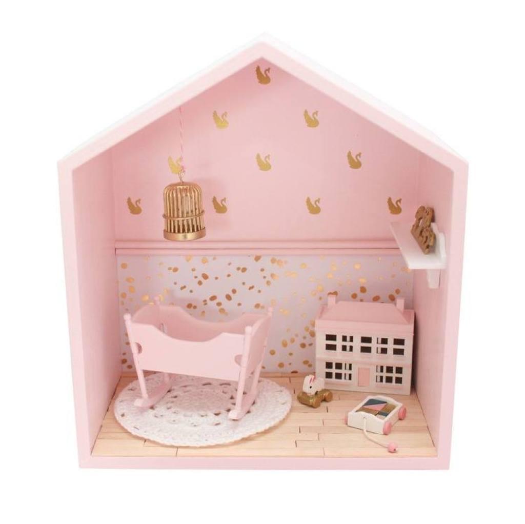blush roze muurkastje-GoodGirlsCompany