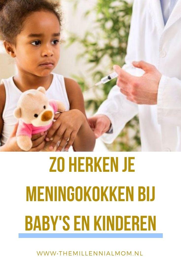 Zo herken je meningokokken bij baby's en kinderen