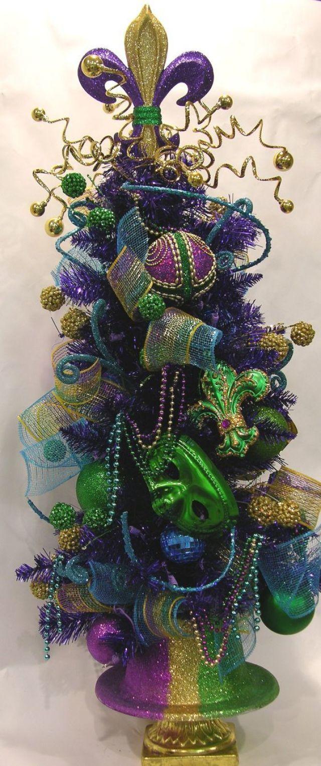 Carnavals kerstboom