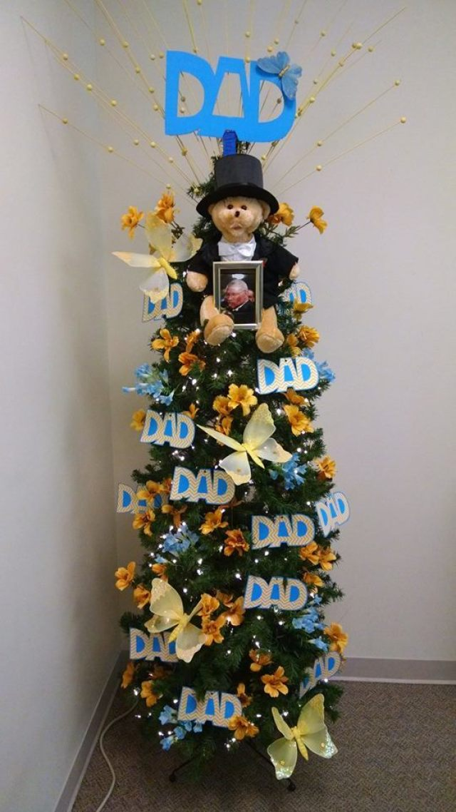 Kerstboom vaderdag