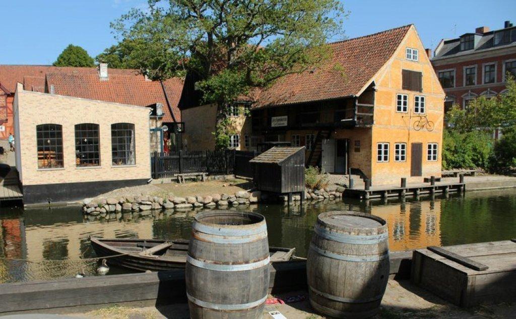 Openluchtmuseum Aarhus Denemarken