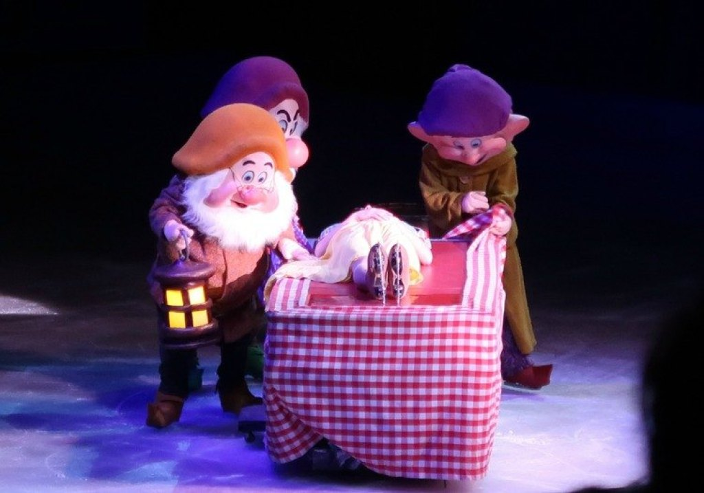 Sneeuwwitje Disney on ice 2018