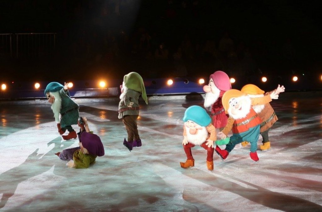 Sneeuwwitje Disney on ice