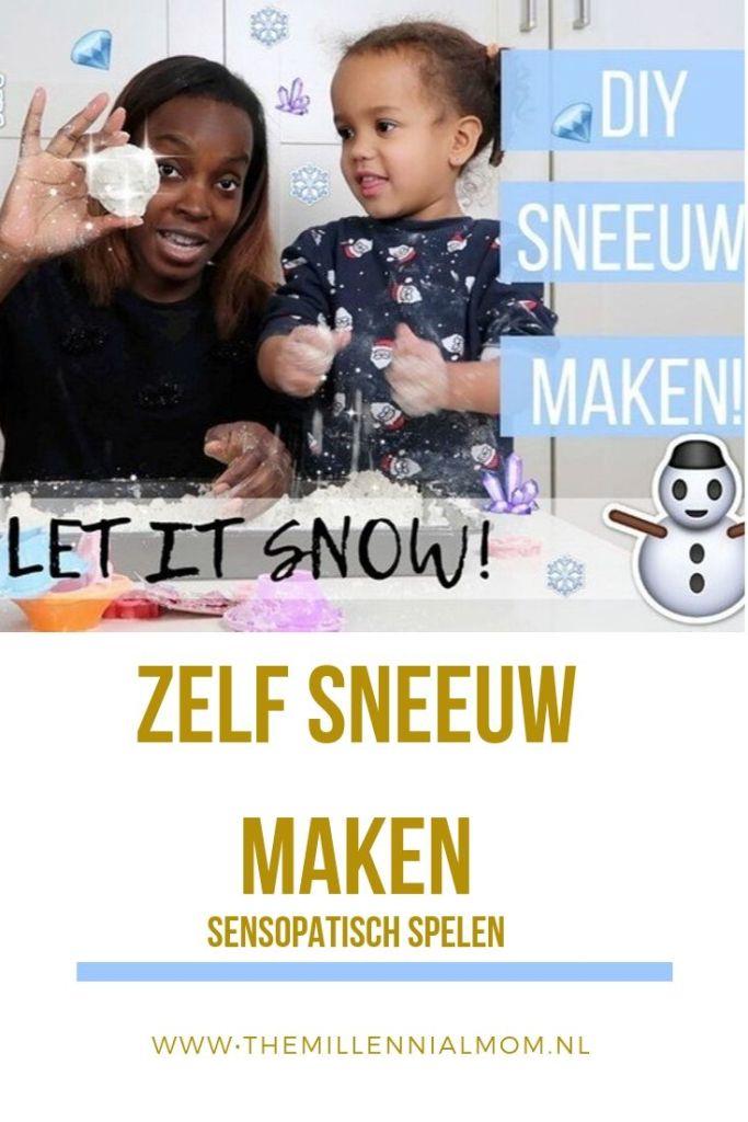 Zelf sneeuw maken