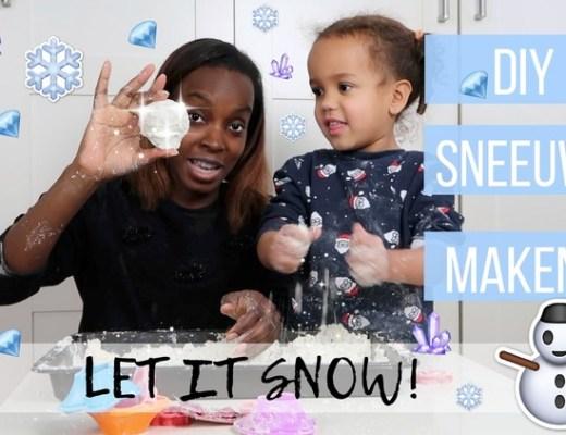 sneeuw maken