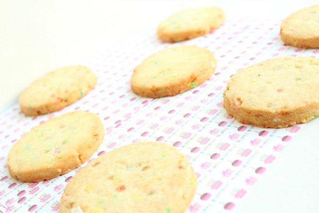 funfetti koekjes