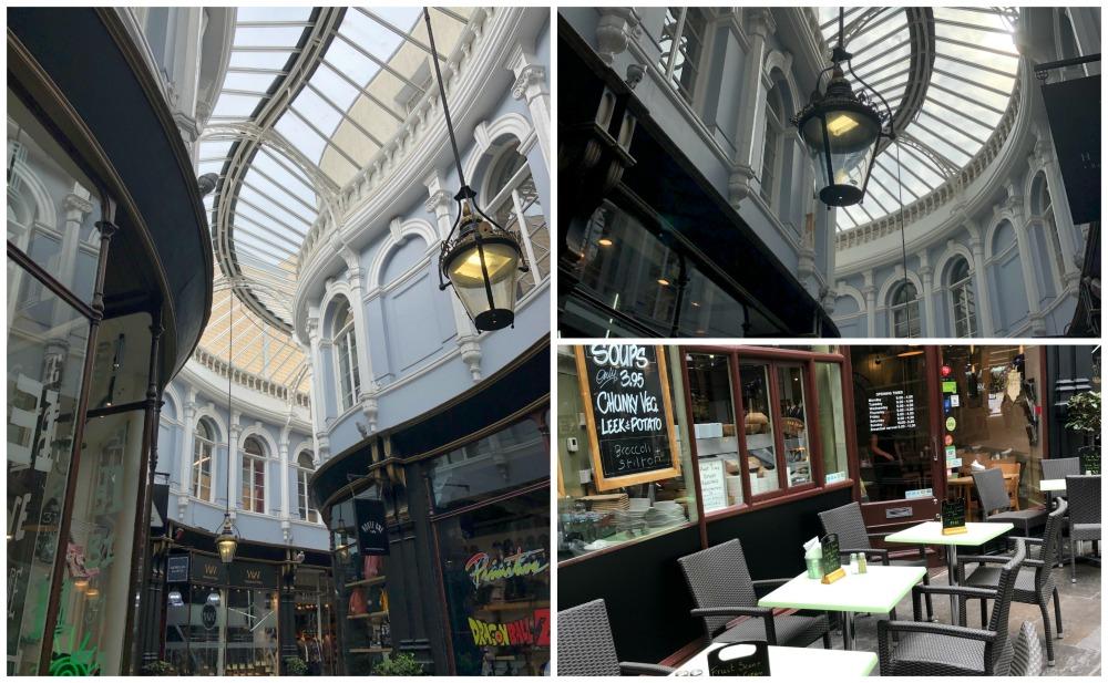 Cardiff Arcades bezoeken