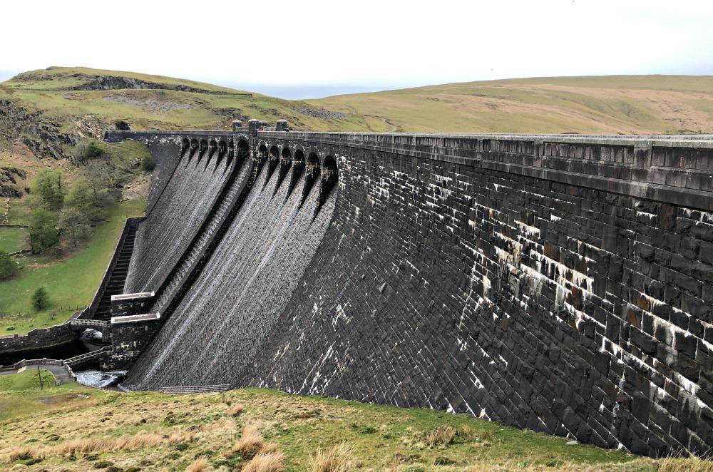 Claerwen dam Elan Valley