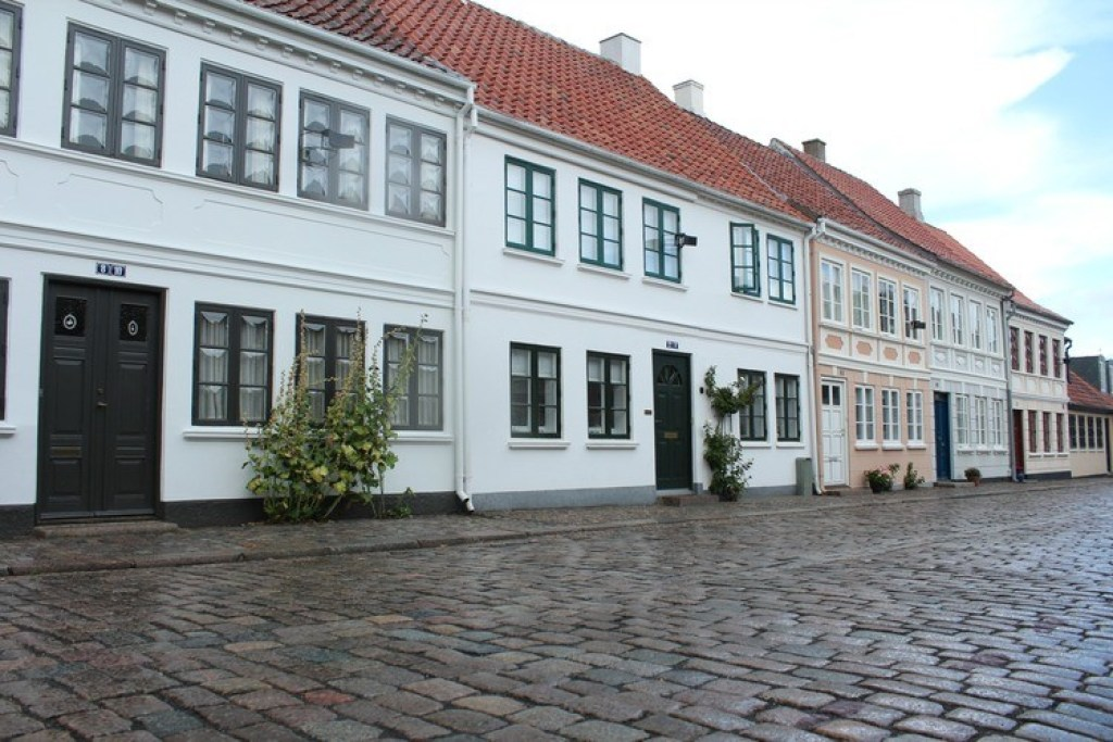 HC Andersen kwartier Odense