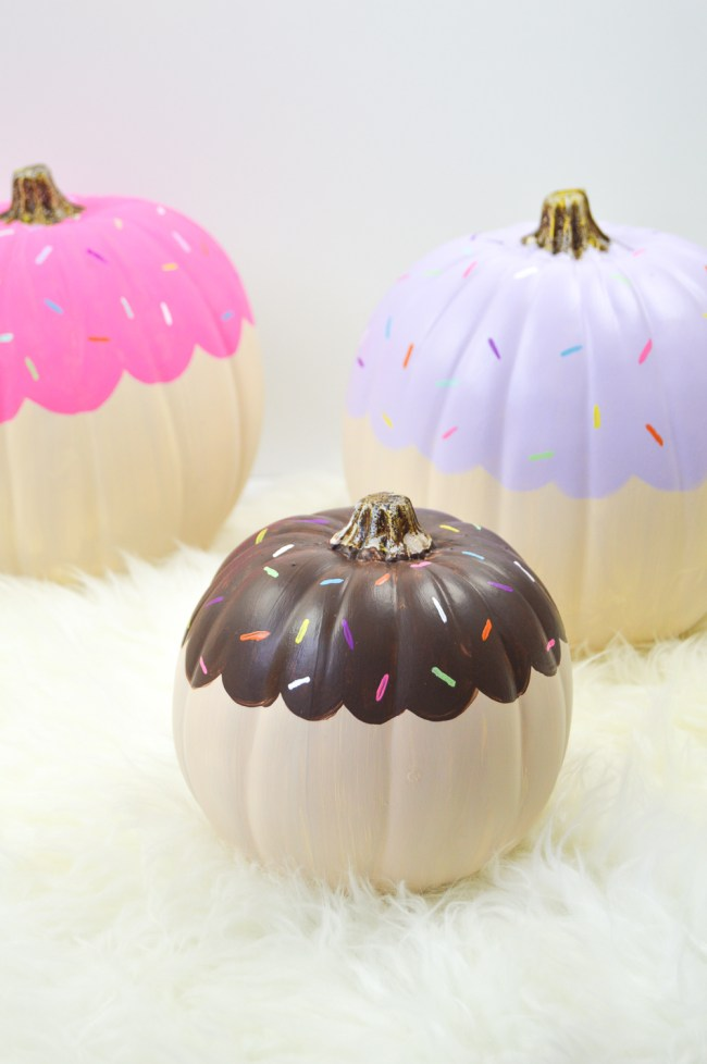 donut pumpkins_Halloween_The Millennial Mom