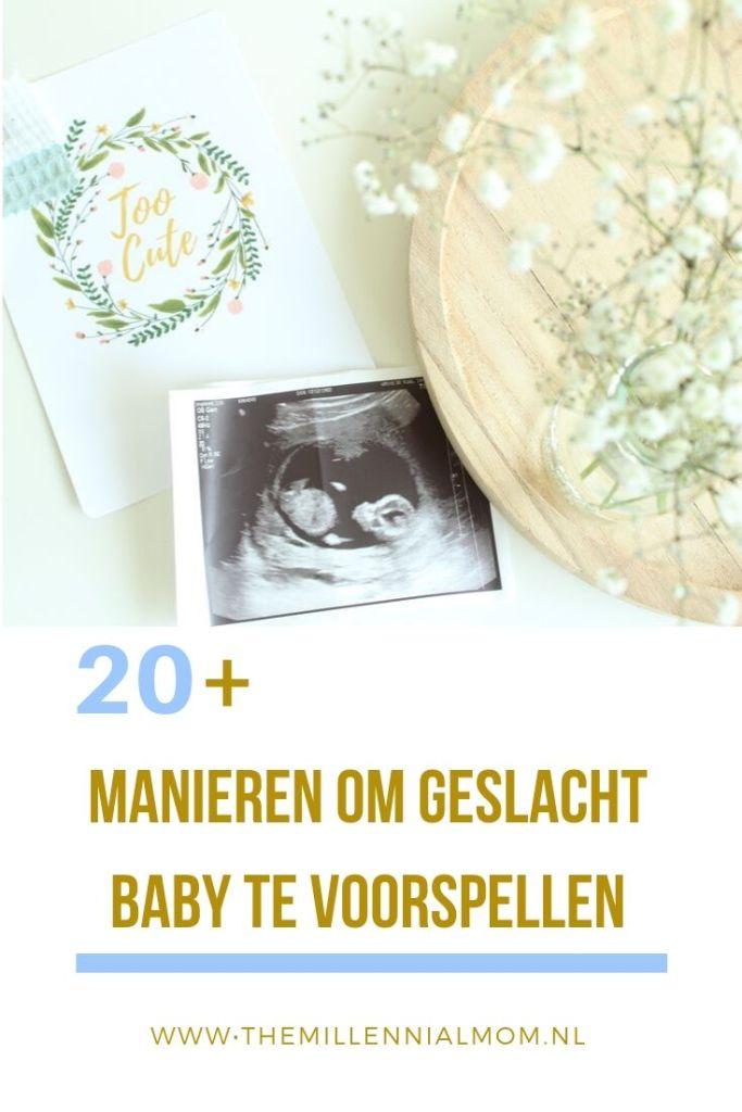 geslacht baby voorspellen